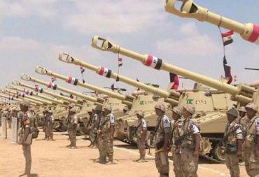 القوات المصرية تستعد لعملية عسكرية في ليبيا