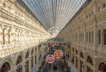 """غوم """"GUM"""": أقدم وأكبر متجر متعدد الأقسام في روسيا (صور)"""