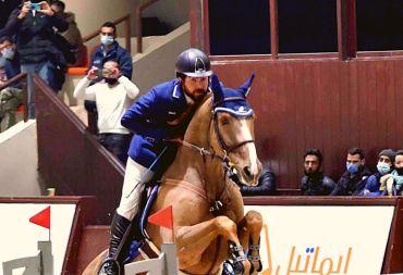 بطولة الأغر الدولية لقفز الحواجز .. منافسة قوية وألقاب وأحمد حمشو بطل الجائزة الكبرى (فيديو)