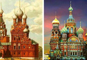 العمارة الروسيةفي نهاية القرن التاسع عشر وأوائل القرن العشرين (صور)