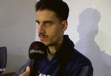 شاب سوري كفيف يتغلب على واقعه بالتصميم والإرادة (فيديو)