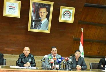 """في لقاء الاتحاد الرياضي العام واتحاد كرة القدم مع الإعلام .. حاتم الغايب: """"نجدد الثقة بنبيل معلول"""" (فيديو)"""