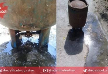 بعد انتظاره 95 يوماً .. مواطن يستلم اسطوانة غاز مليئة بالمياه!!