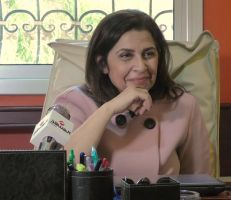 ديانا جبور تتحدث للمشهد عن عودتها إلى الإنتاج الدرامي مع شركة إيمار للإنتاج التلفزيوني والسينمائي (فيديو)