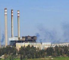 أضرار كبيرة في محطة كهرباء محردة بعد قصفها من قبل مسلحين