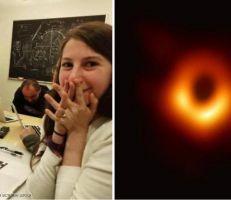 موجة سخرية من  عالمة أميركية بعد صورة الثقب الأسود