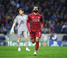 محمد صلاح يحصل على لقب رجل مباراة ليفربول وبورتو