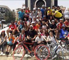 فريق دراجات طرطوس يطلق مبادرته: يالله عالبسكليت