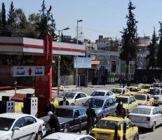 محروقات دمشق تبشر بانفراج  أزمة البنزين