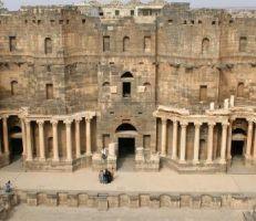 """دائرة آثار بصرى الشام تنجز """"مشروعين لترميم المدينة"""""""