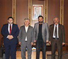 رئيس الاتحاد العراقي  يحضر نهائي كأس الجمهورية