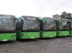 15 باصاً لشركة النقل الداخلي في حمص