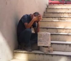من تاجر كبير في حلب إلى متسول في اللاذقية (فيديو)