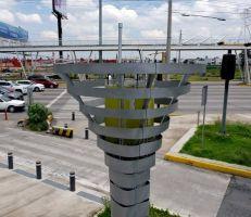 أشجار آلية للحد من التلوث في ميكسيكو سيتي