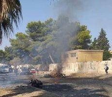 انفجار سيارة مفخخة في مدينة القامشلي