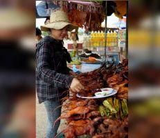 """لحم الجرذان """"سناك رخيص في شوارع كمبوديا"""""""
