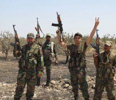 الجيش السوري يسيطر على حاجز الفقير  في خان شيخون
