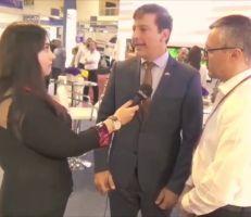 """""""السفير الفنزويلي للمشهد """" شاركنا في المعرض لنعزز الروابط بين سورية وفنزويلا (فيديو)"""