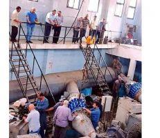انتهاء أعمال صيانة مضخات المياه في اللاذقية