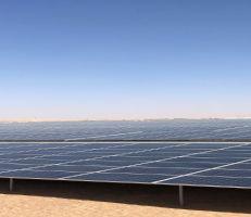 تشغيل أكبر محطة للطاقة الشمسية في حمص لتوليد الكهرباء