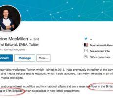 """موقع """"ميدل إيست آي"""": مدير تويتر الشرق الأوسط جندي بريطاني من وحدة للحرب النفسية"""