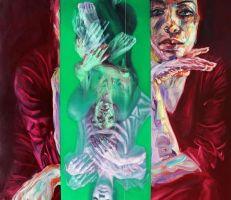 """الفنانة التشكيلية """"سارة شمة"""" تفتتح معرضها المنفرد في لندن"""