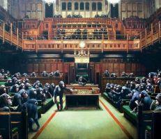 لوحة البرلمان المتخلف تباع في مزاد بـ 12$ مليون