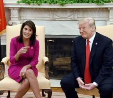 نيكي هايلي: ترامب ترك حلفاءنا للموت