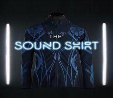 قميص يحول أصوات الموسيقى المختلفة إلى أحاسيس