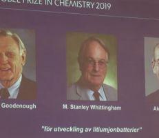 جائزة نوبل في الكيمياء تذهب لمطوري بطاريات الليثيوم