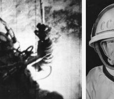 """وفاة رائد الفضاء الروسي أليكسي ليونوف """"أول إنسان يسير في الفضاء"""""""