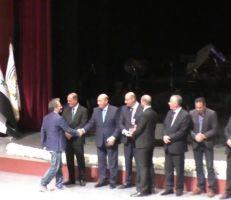 """""""المشهد أونلاين"""" يحصل على جائزة أفضل موقع للمركز الثاني في مهرجان الإعلام الثالث(فيديو)"""