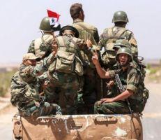 """وصول الجيش السوري إلى بلدة """"تمر"""" مقترباً من الحدود التركية"""