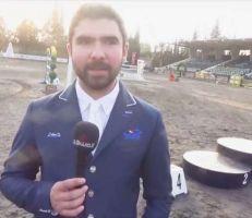 الفارس أحمد حمشو وخطوات قليلة عن اولمبياد طوكيو (فيديو)