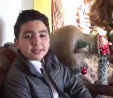 الطفل السوري الياس الشيخ الياس.. أصغر مصفف شعر في الوطن العربي (فيديو)