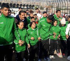3500شخص في (ماراثون دمشق الأول) لدعم الأشخاص ذوي الإعاقة الذهنية