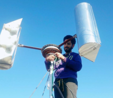 مهندس سوري يبتكر عنفة لإنتاج الطاقة واستثمارها بالتدفئة