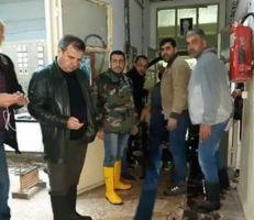 """محطة """"الشلفاطية"""" في اللاذقية تعود للخدمة"""