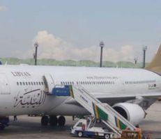 """""""وزارة النقل"""" تسمح للخطوط الجوية الليبية بعبور الأجواء السورية"""