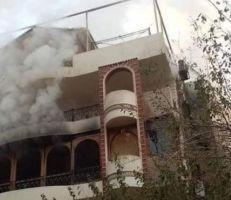 وفاة والد الفنان إيهاب توفيق إثر حريق بمنزله