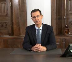 """الرئيس الأسد: """"معركة تحرير ريف حلب وإدلب مستمرة بغض النظر عن بعض الفقاعات الصوتية الآتية من الشمال"""" (فيديو)"""