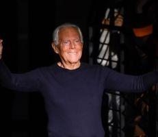 """مصمم الأزياء جورجيو أرماني: """"تسويق الموضة يغتصب النساء"""""""