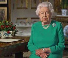 الملكة اليزابيث الثانية تدعو للوحدة خلال تفشي وباء كورونا