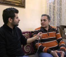 لقاء مع المطرب عبود سايس وجلسة فنية في الحجر المنزلي بحلب  (فيديو)