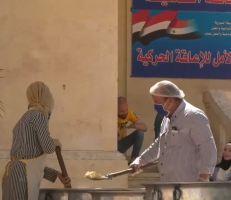 4000 وجبة مجانية يومياً لأحياء حلب الشعبية (فيديو)