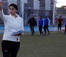 السورية مها جنود مدربة لمنتخب سيدات كرة قدم عمان