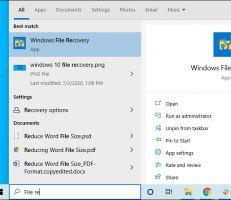 أول أداة مجانية لاستعادة الملفات المحذوفة من مايكروسوفت