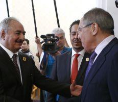 لافروف: روسيا قررت إعادة فتح سفارتها في ليبيا