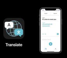 نظرة أولية على تطبيق الترجمة الجديد من أبل