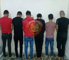 القبض على سارقي المنازل في منطقة الشيخ بدر